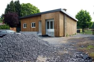 architecte lille plux restructuration maisson ossature bois Lecelles Valenciennes http://www.atelier-plux.fr/