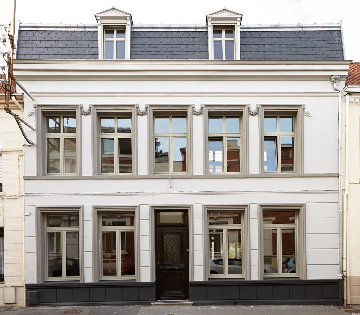 architecte lille plux restructuration maison bourgeoise nord 59. Black Bedroom Furniture Sets. Home Design Ideas