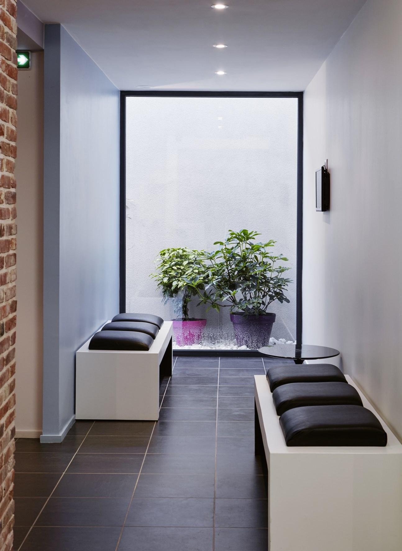 extension d 39 un cabinet dentaire templeuve architecte lille plux. Black Bedroom Furniture Sets. Home Design Ideas