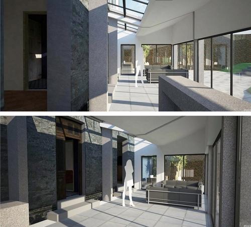 r novation d 39 un ancien bat ment en maison de famille architecte lille plux. Black Bedroom Furniture Sets. Home Design Ideas