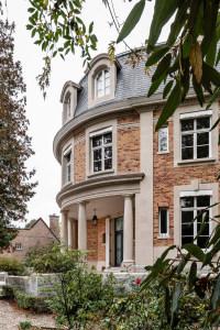 architecte Lille PLUX rénovation et restructuration d'un demeure de caractère maison de maitre art déco néo classique   (21)