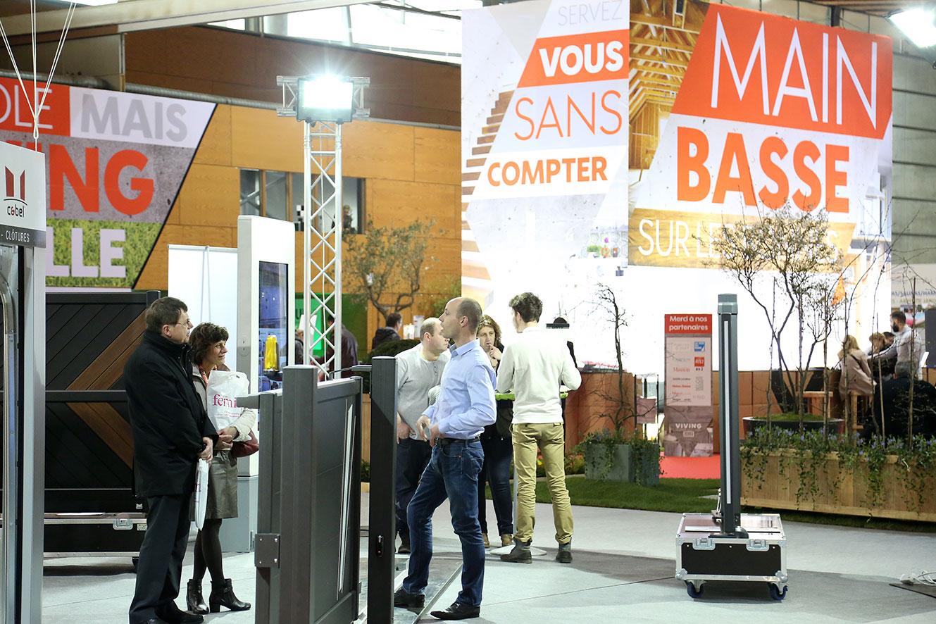 Salon viving architecte lille plux - Salon a lille grand palais ...