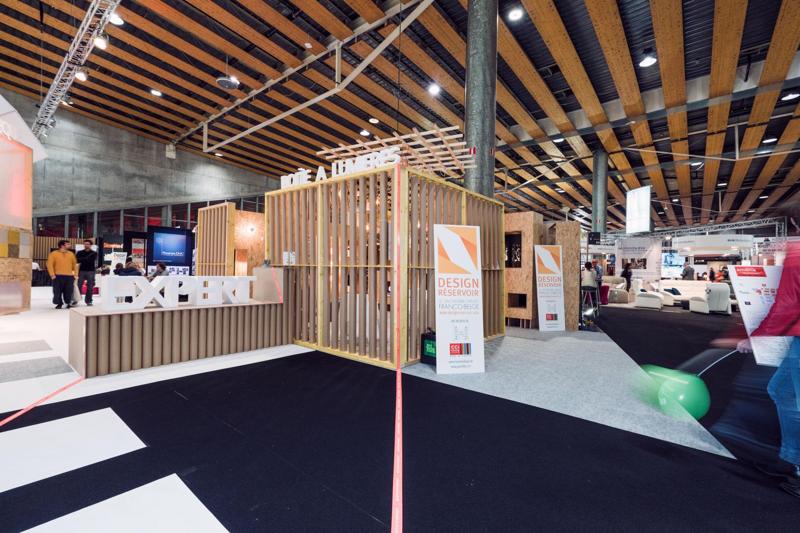 Salon amenago 2015 architecte lille plux for Architecte grand palais